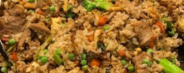 Leftovers Reimagined:  Pork Fried Rice