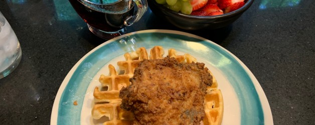 Breakfast for Dinner: Fried Chicken & Waffles