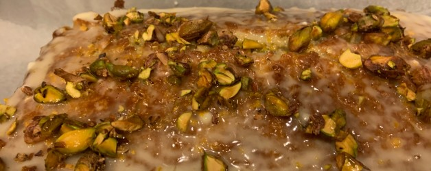 Pistachio Loaf – A Labor of Love