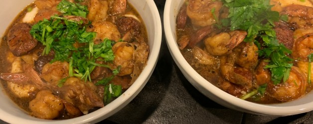 Shrimp and Grits (aka We Have A New Grits Convert!)