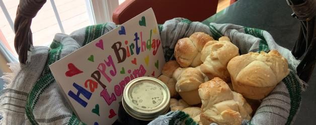 A Birthday Basket – No Birthday Required