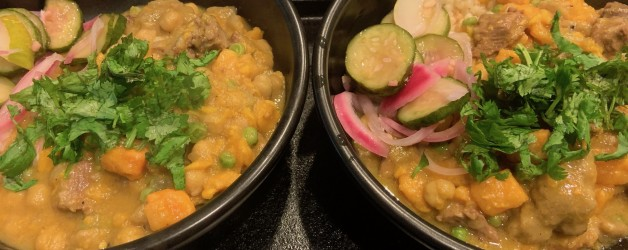 Sunday Stew – Lamb Stew with Chickpeas and Butternut Squash