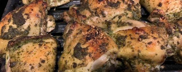Chimichurri Chicken – Another Attempt at Giving HoHum Chicken a Boost