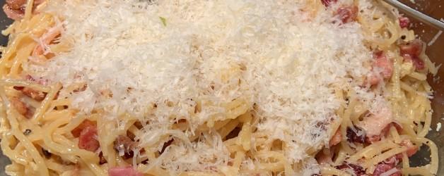 My Go To Pasta – Spaghetti Carbonara