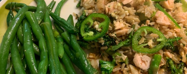 Tired of Salmon Fillets? Try Salmon Fried Rice Instead!
