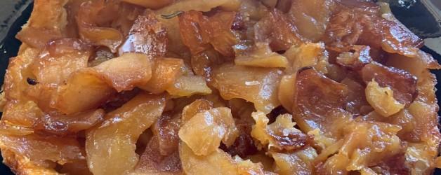 Leftover puff pastry? Tarte Tatin!